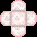 forminha cha de bebe rosa