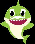 grandpa shark verde 1
