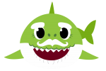 grandpa shark verde 2