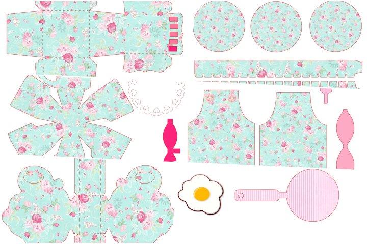 kit festa cha de cozinha para imprimir