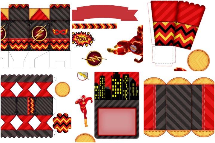 kit festa flash para imprimir