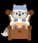 lobo cute 2