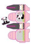 maleta panda menina