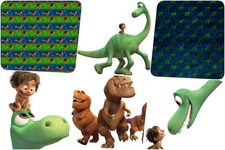 papeis e elementos o bom dinossauro para imprimir