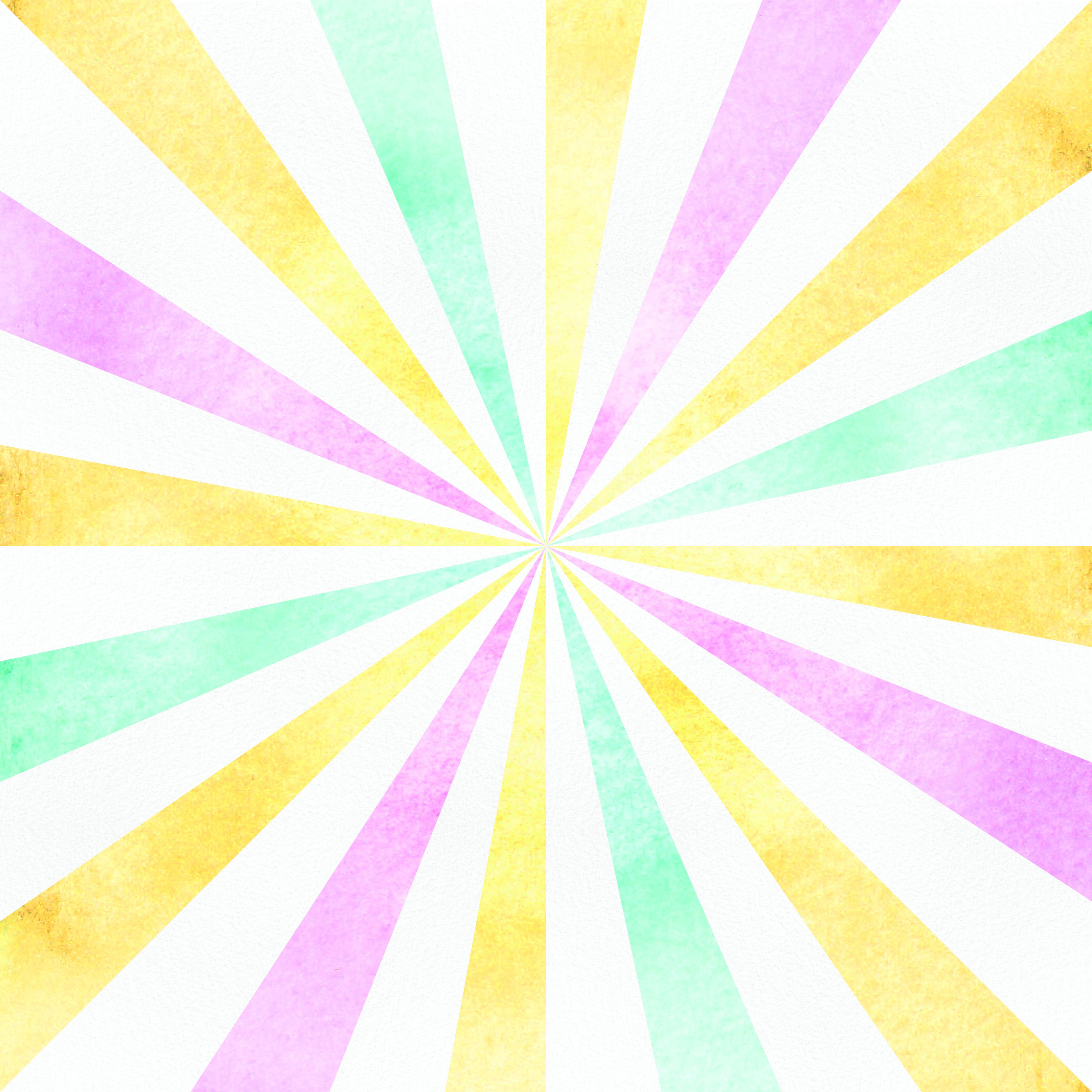 papel digital circo aquarela 3