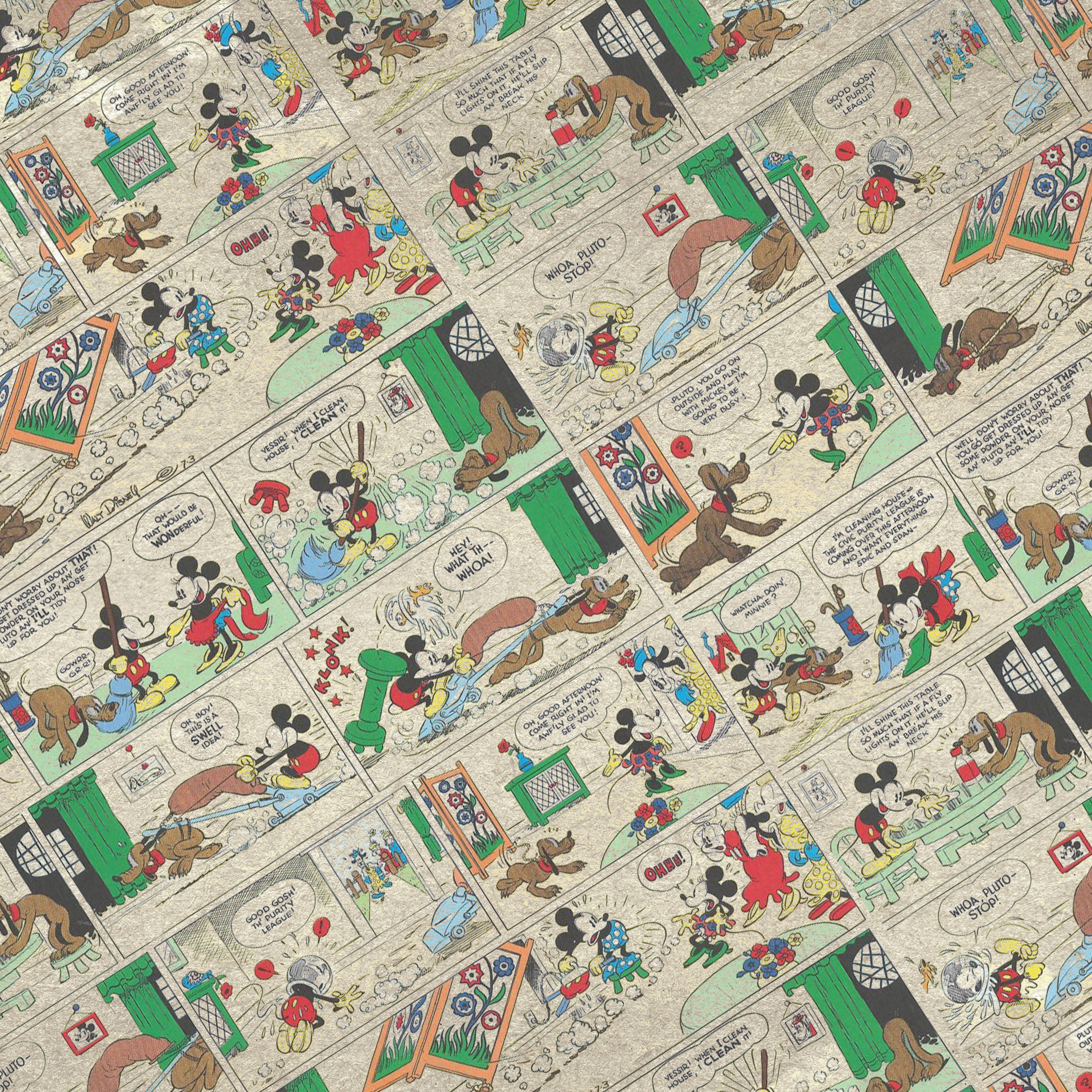 papel digital mickey vintage 11