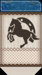 porta acrilico cavalos 1