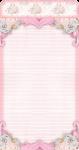 porta bisnaguinha cha de bebe rosa