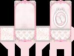 sacolinha cha de bebe rosa