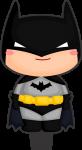 topo de bolo batman cute 2