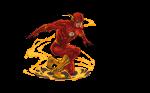 topo de bolo flash 6