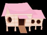 topo de bolo galinha pintadinha rosa 6