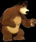 topo de bolo masha e o urso 5