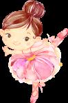 tubete bailarina rosa 2