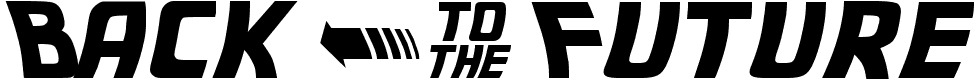 Fonte De Volta para o Futuro gratis para download