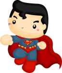 aplique superman cute 2