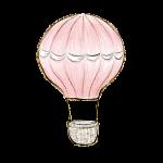 balao rosa