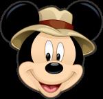 bis duplo mickey safari aplique 1