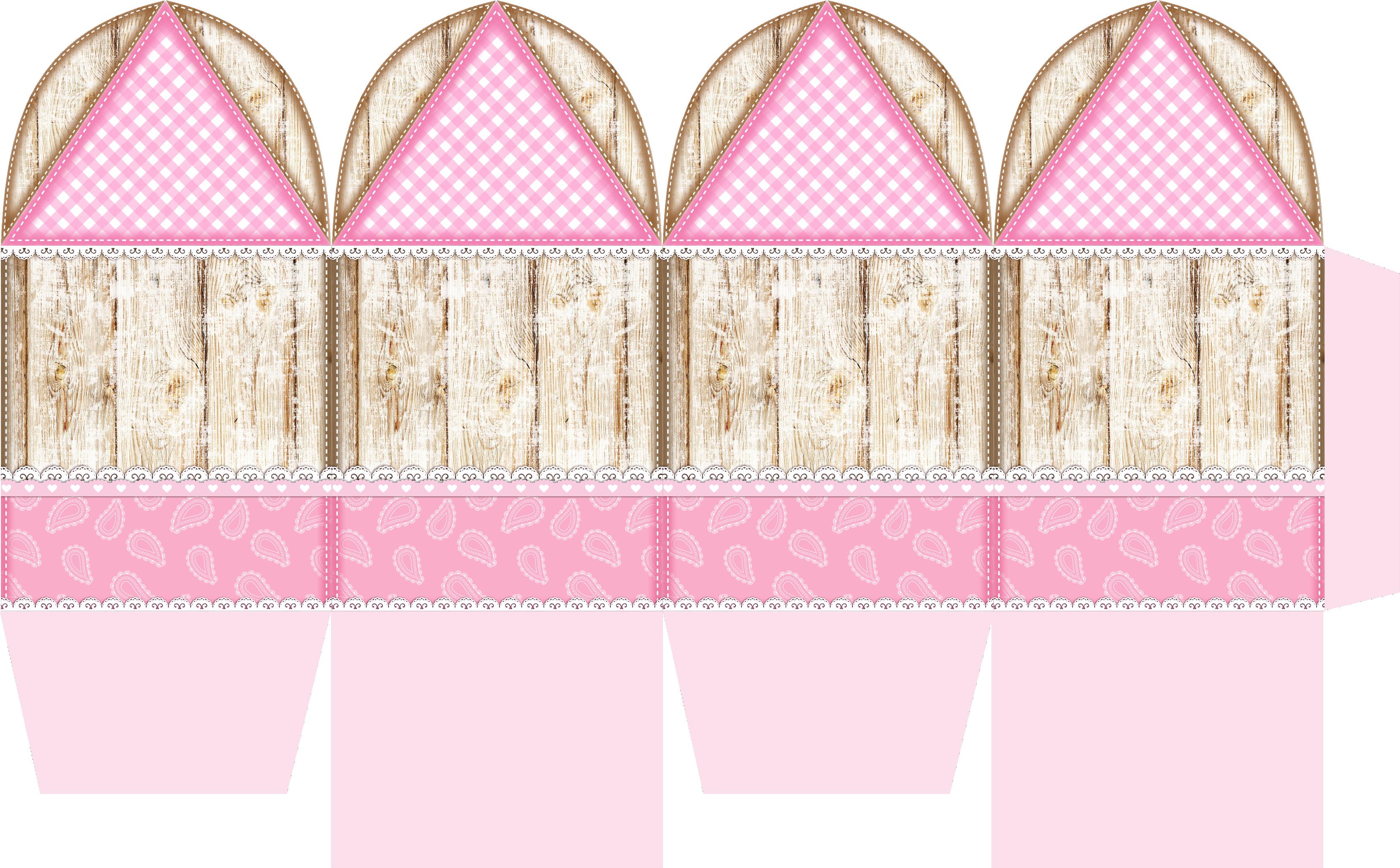 caixa abinha spirit rosa