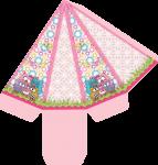 caixa cone corujinha bubu