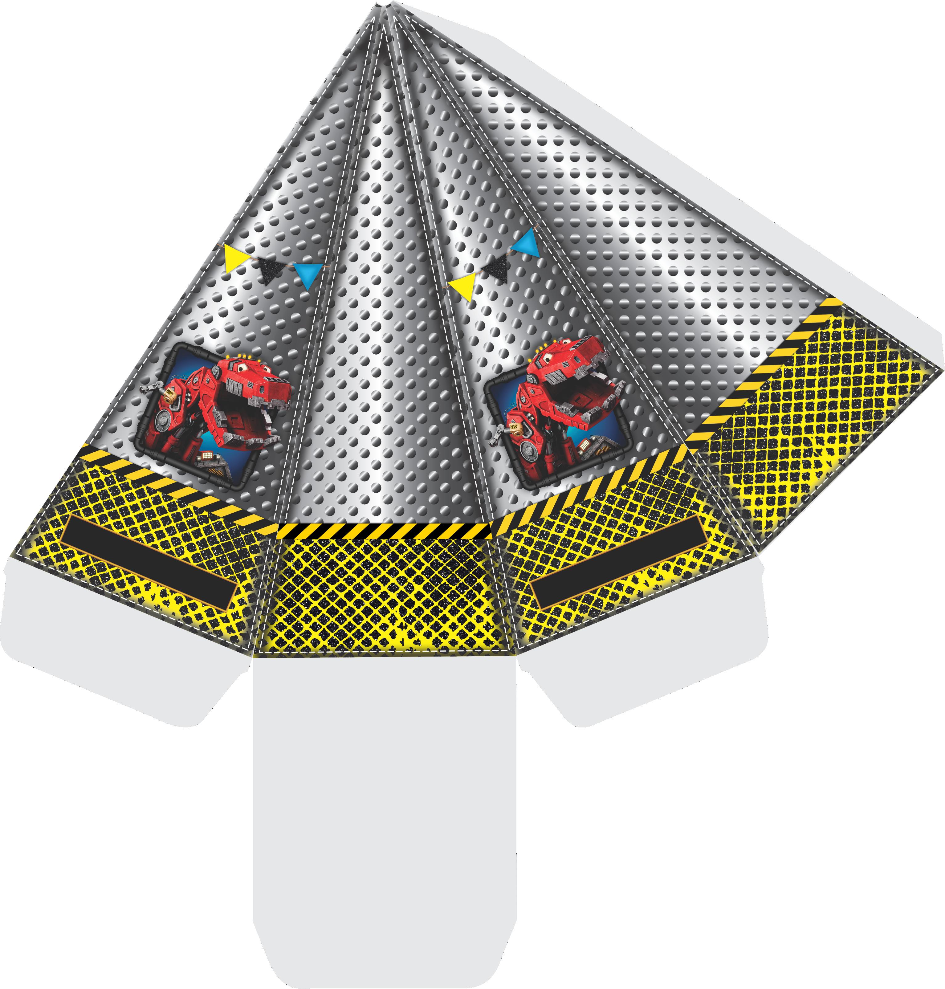 caixa cone dinotrux