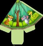 caixa cone mickey safari