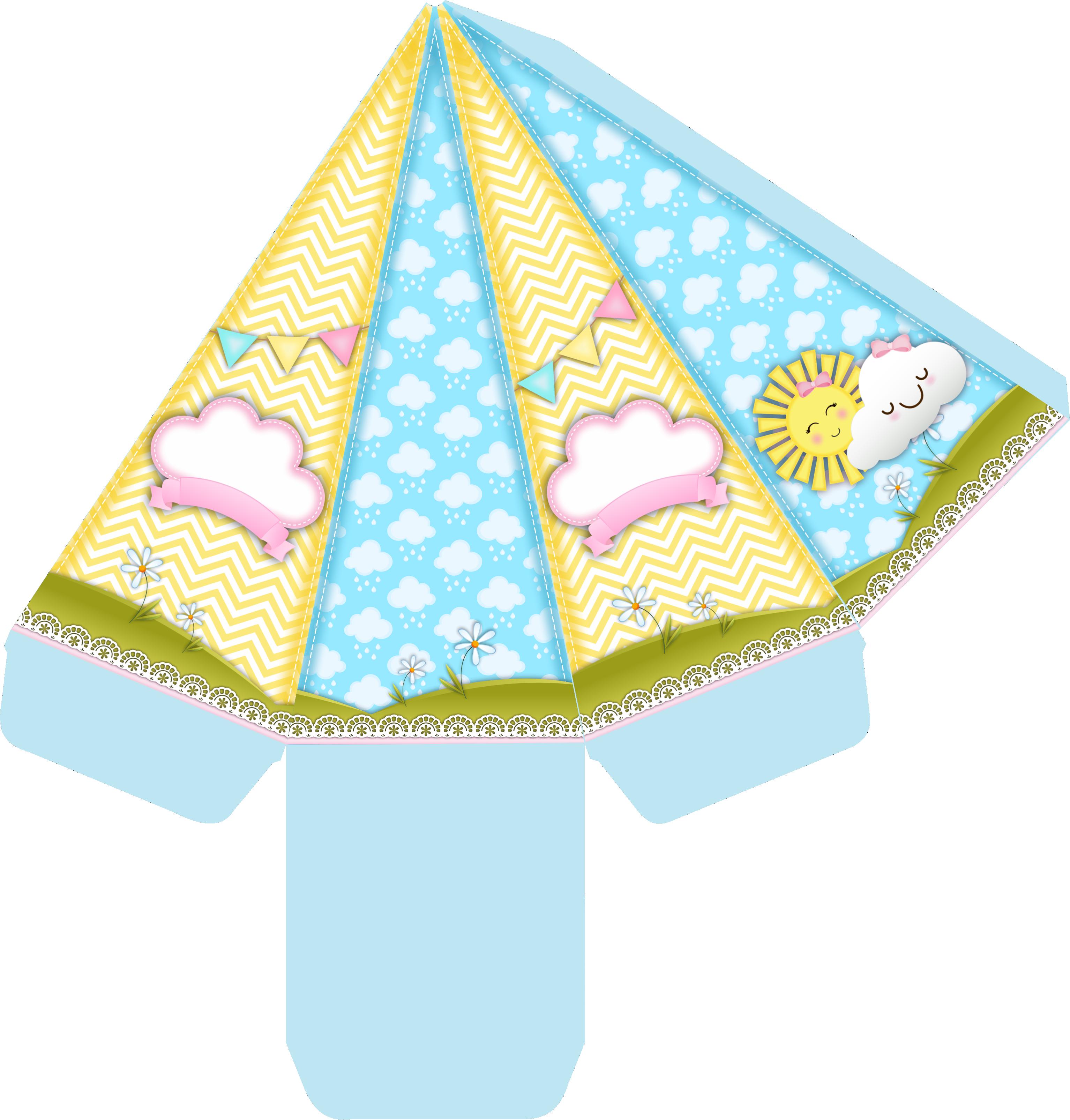 caixa cone sunshine