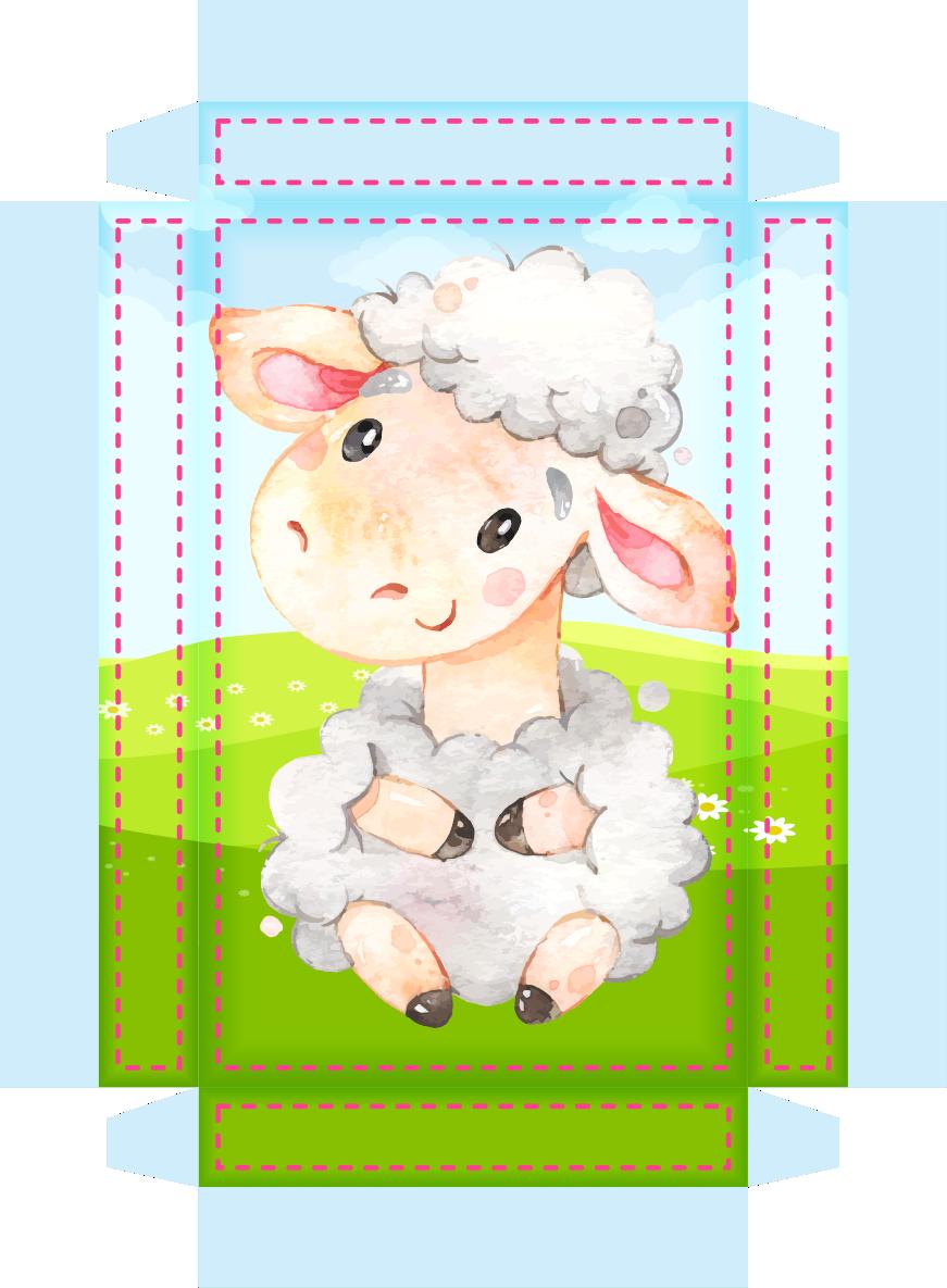 caixa milk ovelinha rosa 2