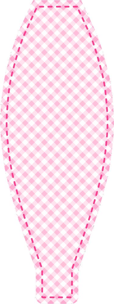 caixa piramide ovelhinha rosa 4