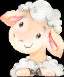 caixa presente ovelhinha rosa 3
