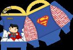 caixa superman cute