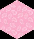 centro de mesa aplique spirit rosa