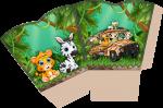 centro de mesa mickey safari