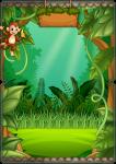 convite dentro mickey safari