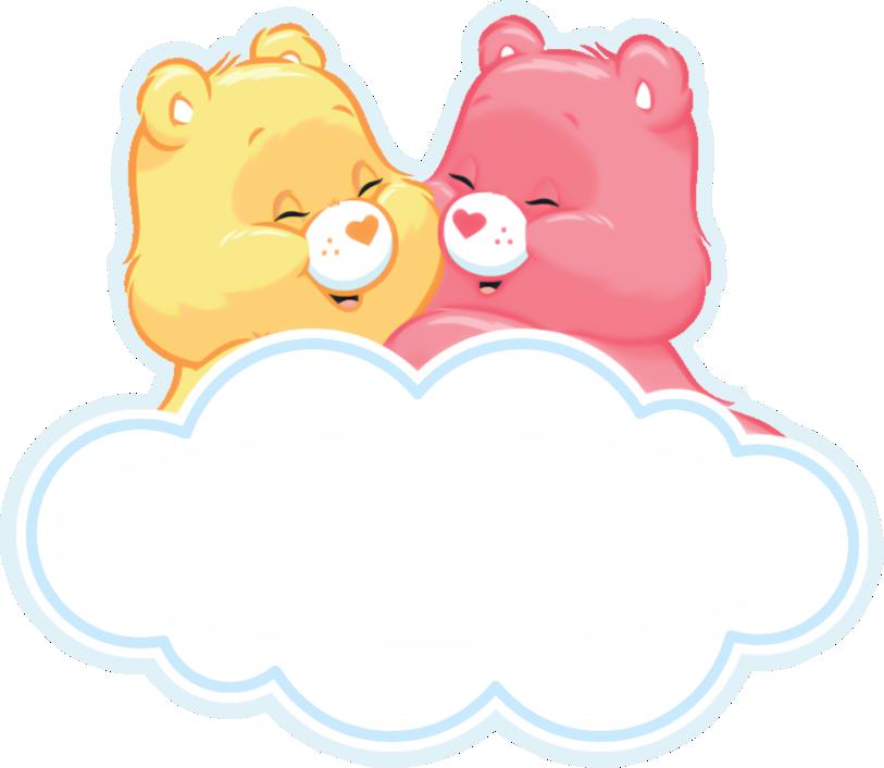 display aplique ursinhos carinhosos rosa 1