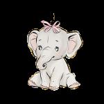 elefantinho aquarela 1