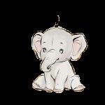 elefantinho aquarela 2