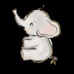 elefantinho aquarela 4