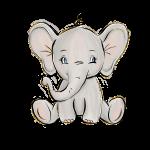 elefantinho aquarela 5