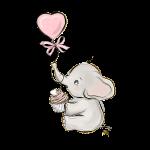 elefantinho aquarela 7