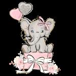 festa elefantinho aquarela 2