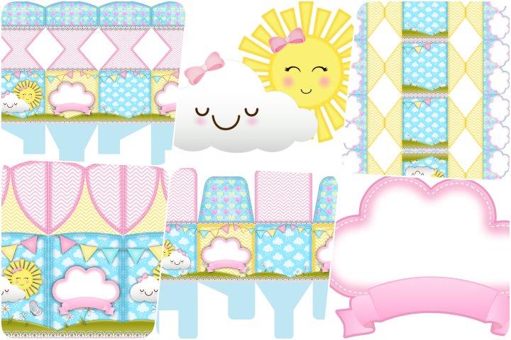 kit festa sunshine para imprimir