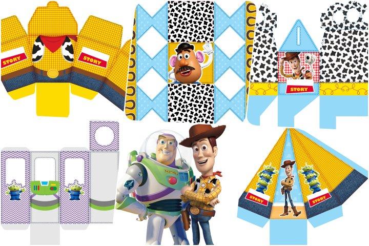 kit festa toy story para imprimir