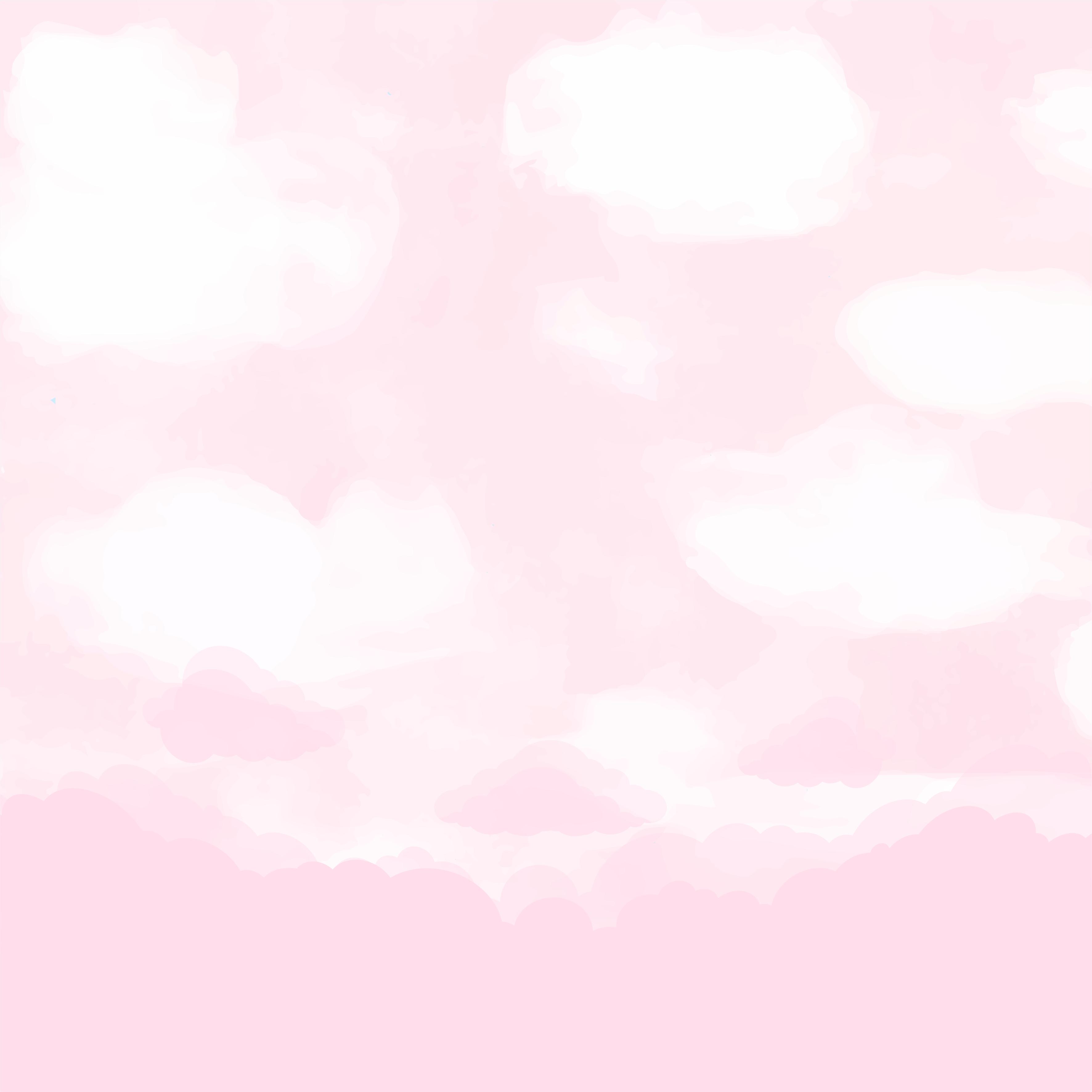 papel digital ovelhinha rosa 1