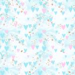 papel digital ursinhos carinhosos rosa 3