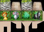 porta palito mickey safari