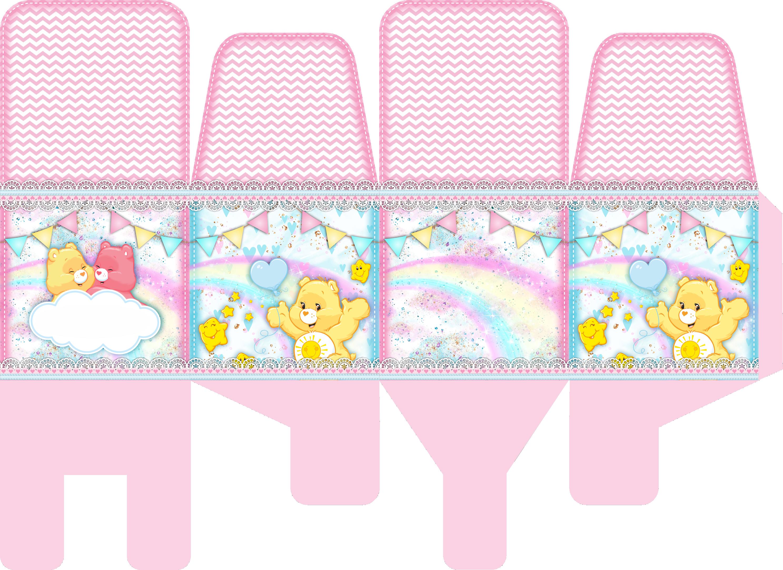porta palito ursinhos carinhosos rosa