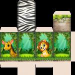 porta tubete mickey safari