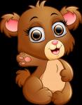 sacola urso mickey safari