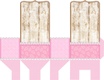 sacolinha spirit rosa